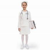 kid dressed up like nurse